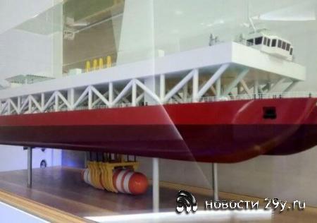 В России разрабатывают судно для подъема затонувших кораблей