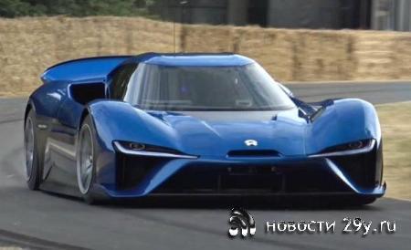 Китайский электрокар Nio EP9 мощностью 1341 л.с. — машина будущего?