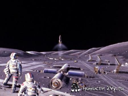 РАН поддержала проект строительства лунной базы и обсудила некоторые детали