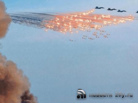 Российские ВКС нанесли массированный удар по позициям боевиков в Сирии посл ...